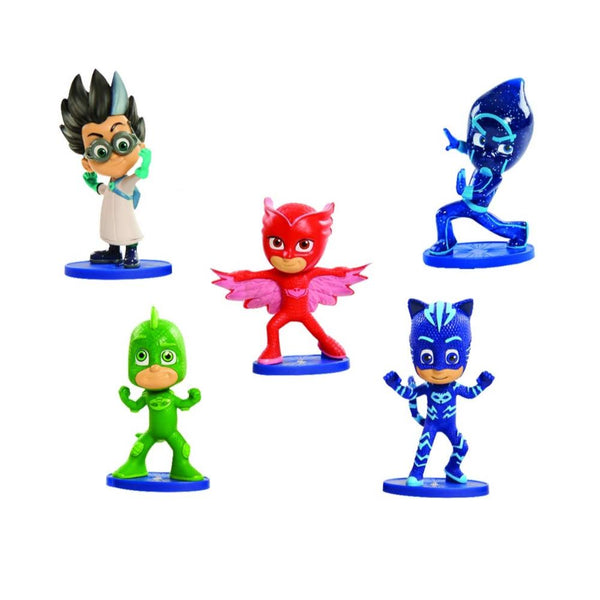 Pj Masks Mini Figuras X 5