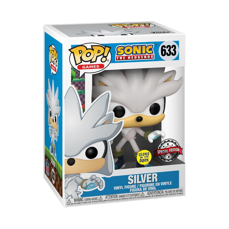 Pop Games: Sonic 30Th Silver Hedgehog