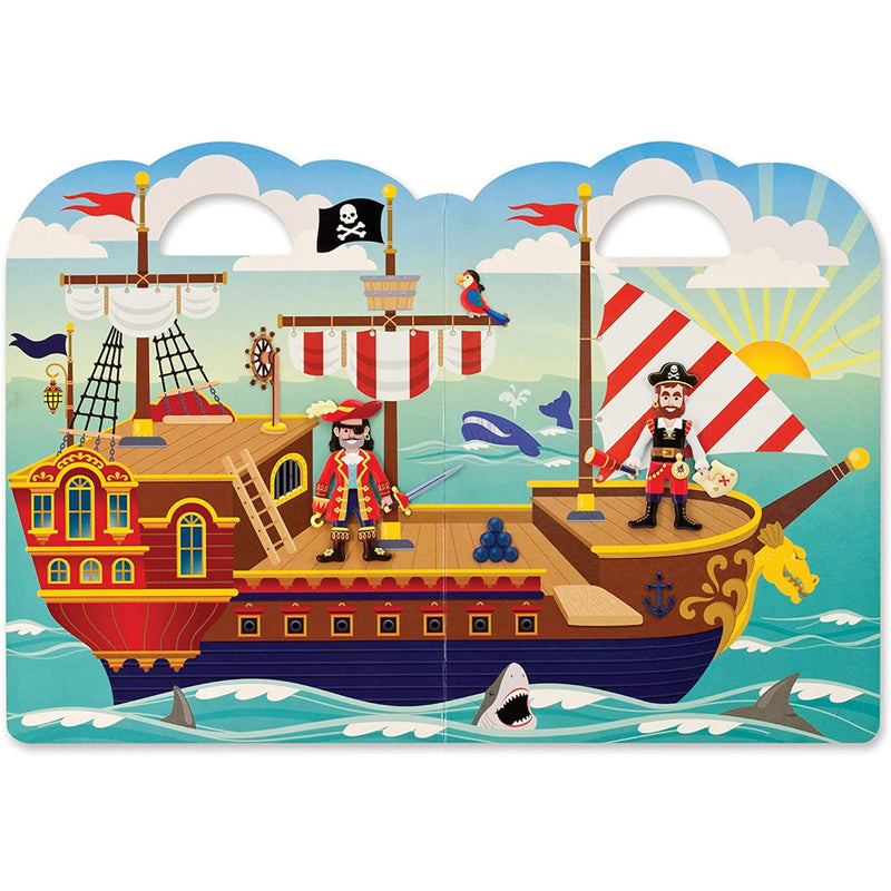 Set De Juego Stickers - Piratas