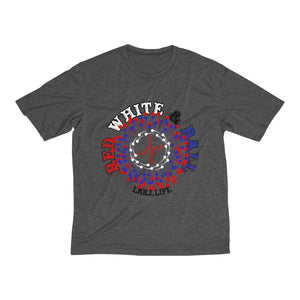 Red White & Ball Men's Heather Dri-Fit Tee