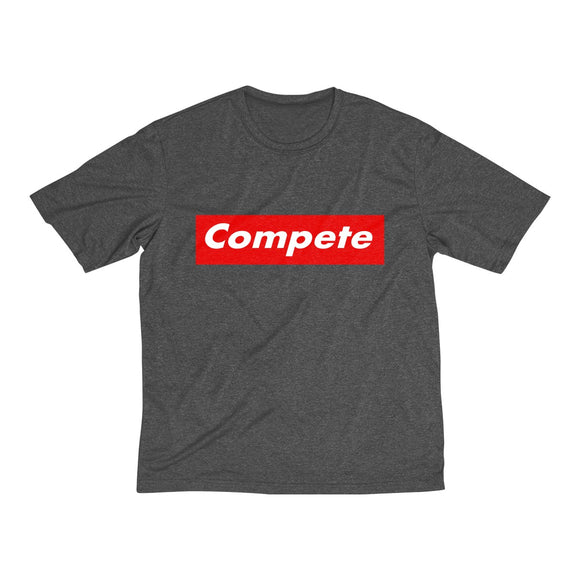 COMPETE Men's Heather Dri-Fit Tee