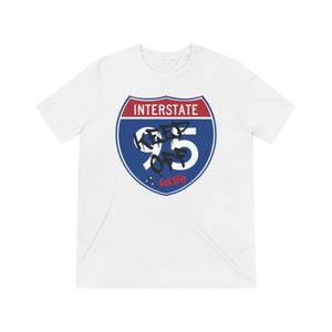 Keep Off The Interstate Unisex Tri-blend Tee