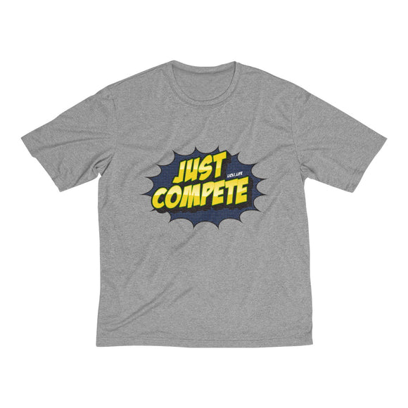 Just Compete Men's Heather Dri-Fit Tee