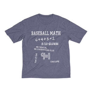Baseball Math Men's Heather Dri-Fit Tee