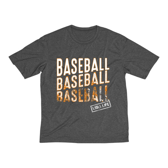 Baseball Baseball Baseball-Corroded Men's Heather Dri-Fit Tee