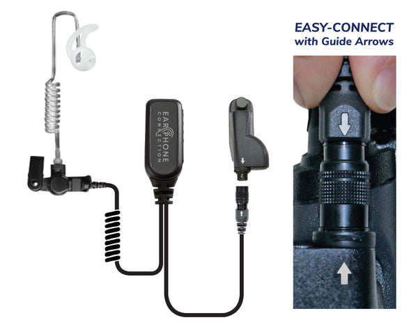 HAWK EC Lapel Microphone With Easy-Connect