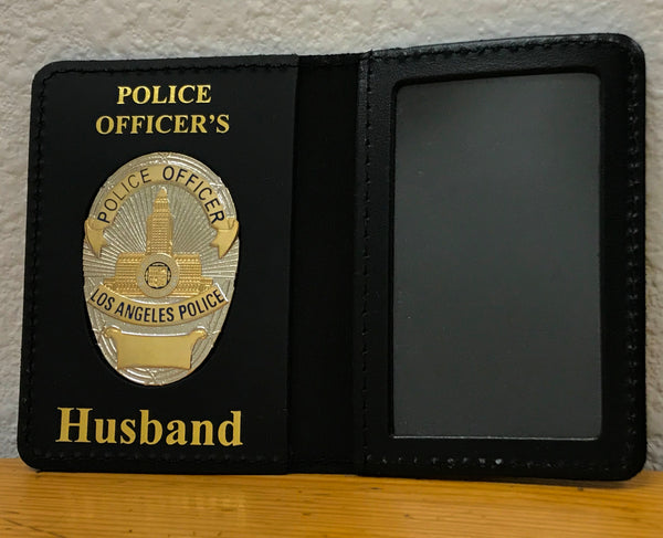 Drivers License Case With Imprint And Medallion
