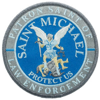 St. Michael Patron Saint Of Law Enforcement Patch