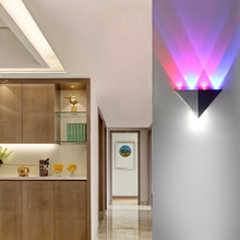 Load image into Gallery viewer, Modern LED Triangle Wall Lamp