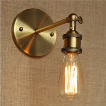 Load image into Gallery viewer, Modern Country Style Brass Wall Lamp
