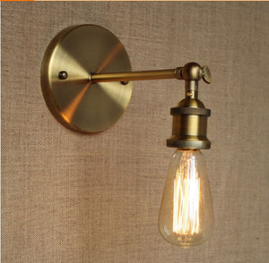 Modern Country Style Brass Wall Lamp