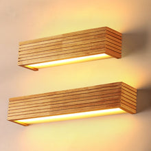 Load image into Gallery viewer, Statuto - Modern Nordic Wooden Wall Lamp