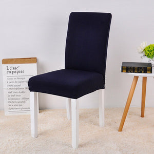 Abby Dark Blue Chair Cover