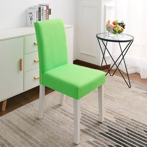 Abby Lime Green Chair Cover