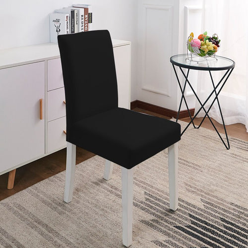 Abby Black Chair Cover