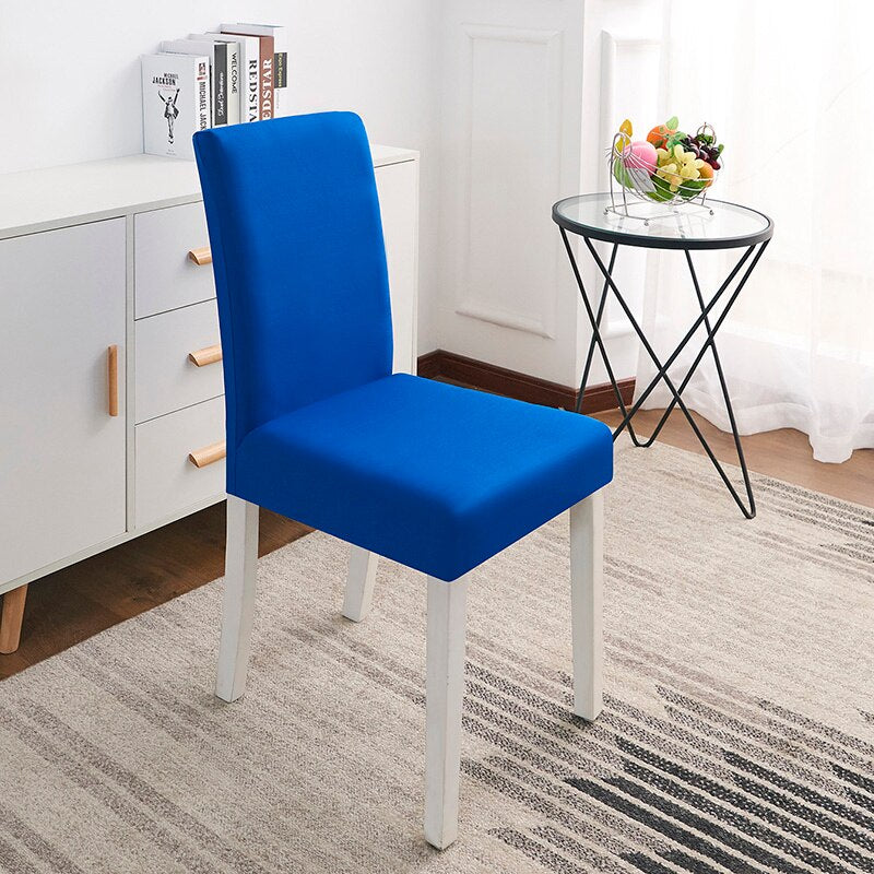 Abby Blue Chair Cover
