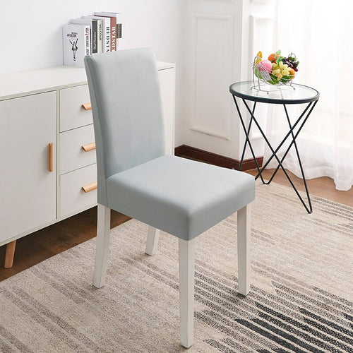 Abby Light Grey Chair Cover