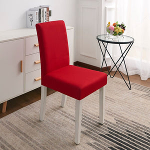 Abby Red Chair Cover