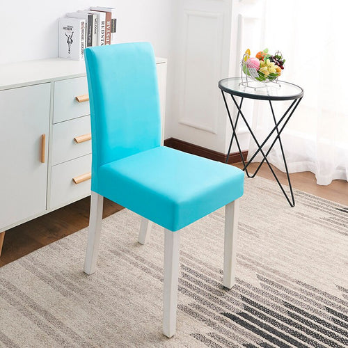 Abby Aqua Chair Cover