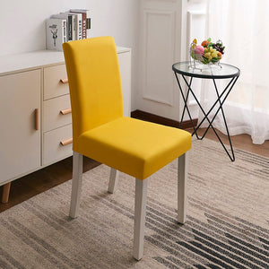 Abby Yellow Chair Cover