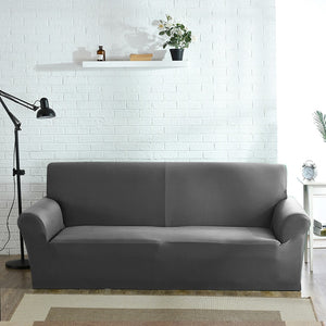 Abby Grey Sofa Cover