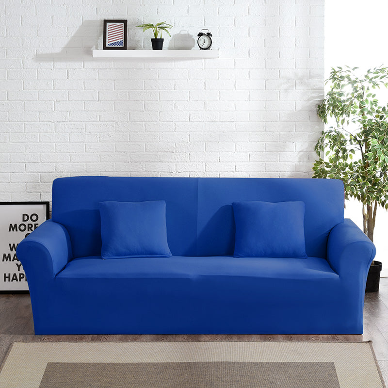 Abby Blue Sofa Cover