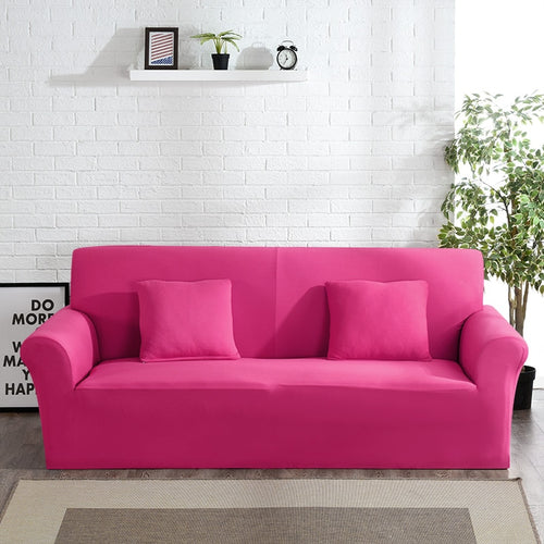 Abby Pink Sofa Cover
