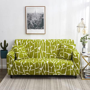 Rhett Lime Green Sofa Cover