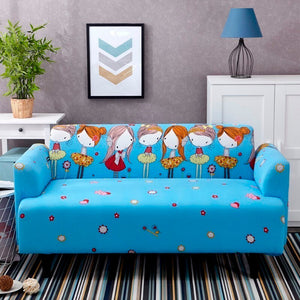 Girls Blue Sofa Cover