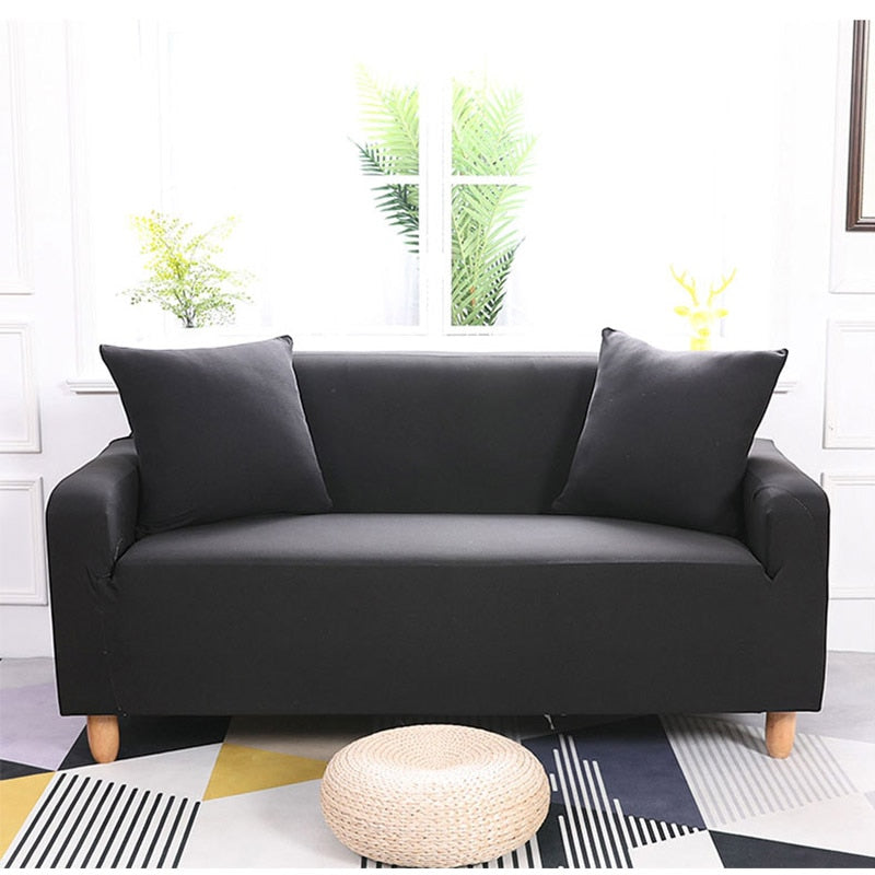 Abby Black Sofa Cover