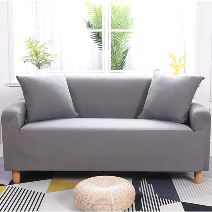Abby Light Grey Sofa Cover