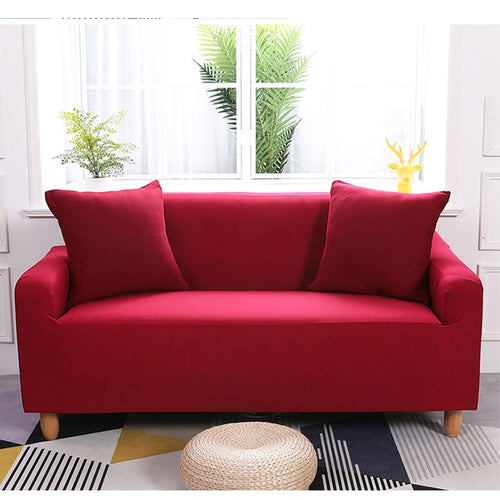 Abby Red Sofa Cover