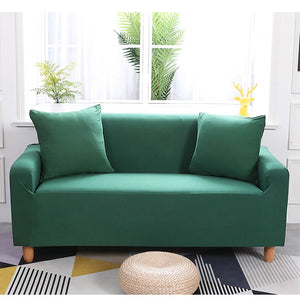 Abby Green Sofa Cover