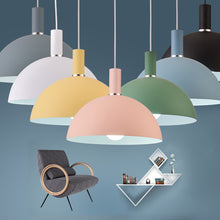 Load image into Gallery viewer, Modern Nordic Round Lampshade Hanging Light