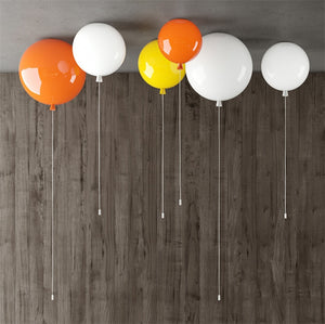 Nordic Color Balloon Hanging Ceiling Lamp