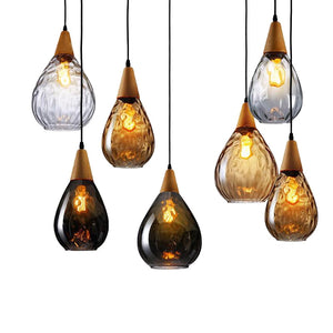 Sergia - Modern Nordic Drop Glass Pendant Lamp