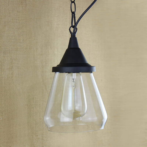 Thalia - Clear Glass Vintage Antique Hanging Light