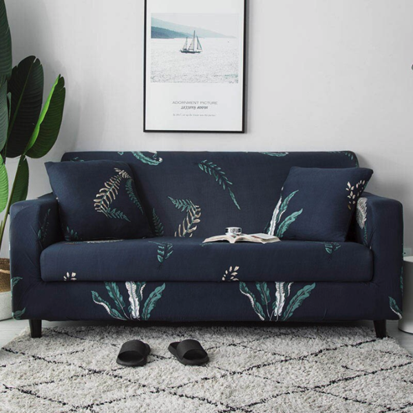 Ezra Leaf Sofa Cover