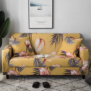 Millie Yellow Sofa Cover