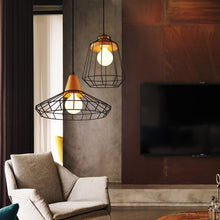 Load image into Gallery viewer, Modern Nordic Wrought Iron Hanging Cage Lamp