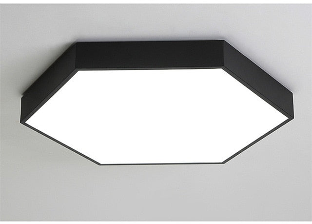 Hex Ceiling Light