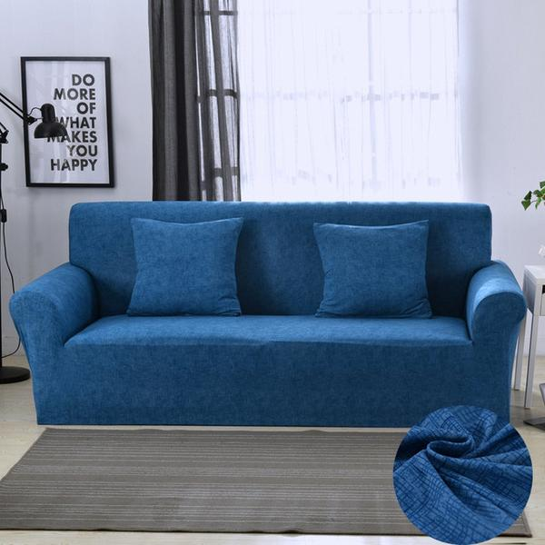 Alber blue Sofa Cover