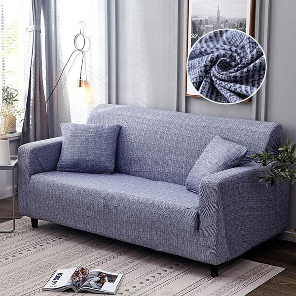 Nia Blue Sofa Cover