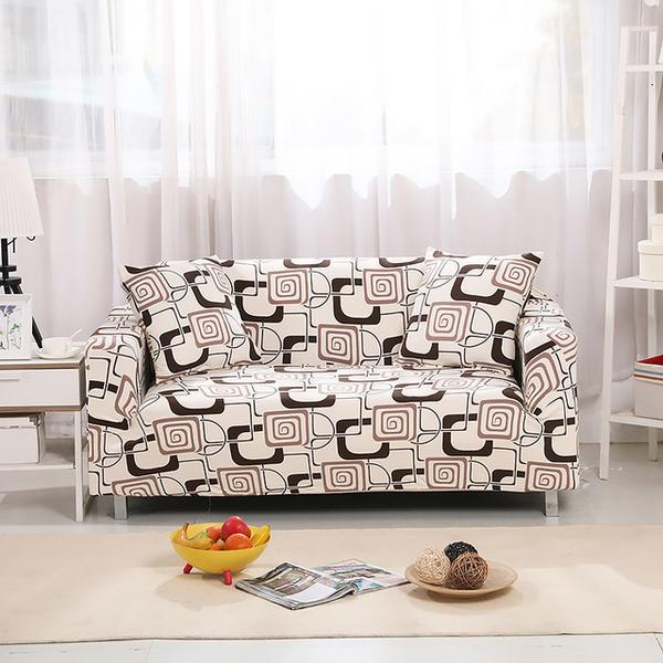 Zane Cream Sofa Cover