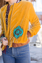 Load image into Gallery viewer, Crazy Train Mustang Moon - Mustard Jacket