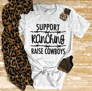Support Ranching Unisex Shirt