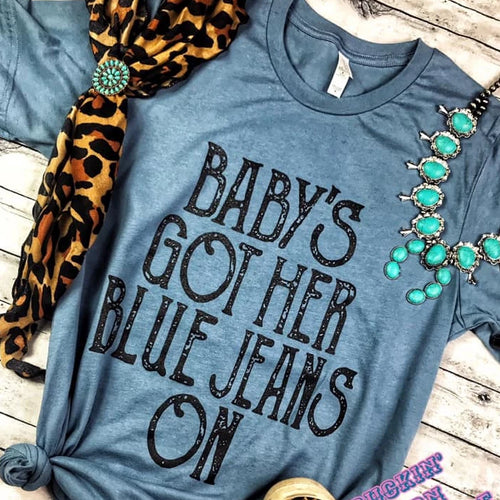 Baby's Got Her Blue Jeans On Unisex Shirt