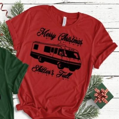 Shitter's Full Christmas Unisex Shirt CLEARANCE