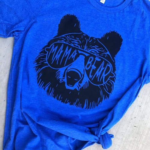 Mama Bear Royal Unisex Shirt