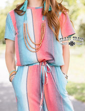 Load image into Gallery viewer, Crazy Train Vaquera Vibes Romper Jumpsuit - Serape